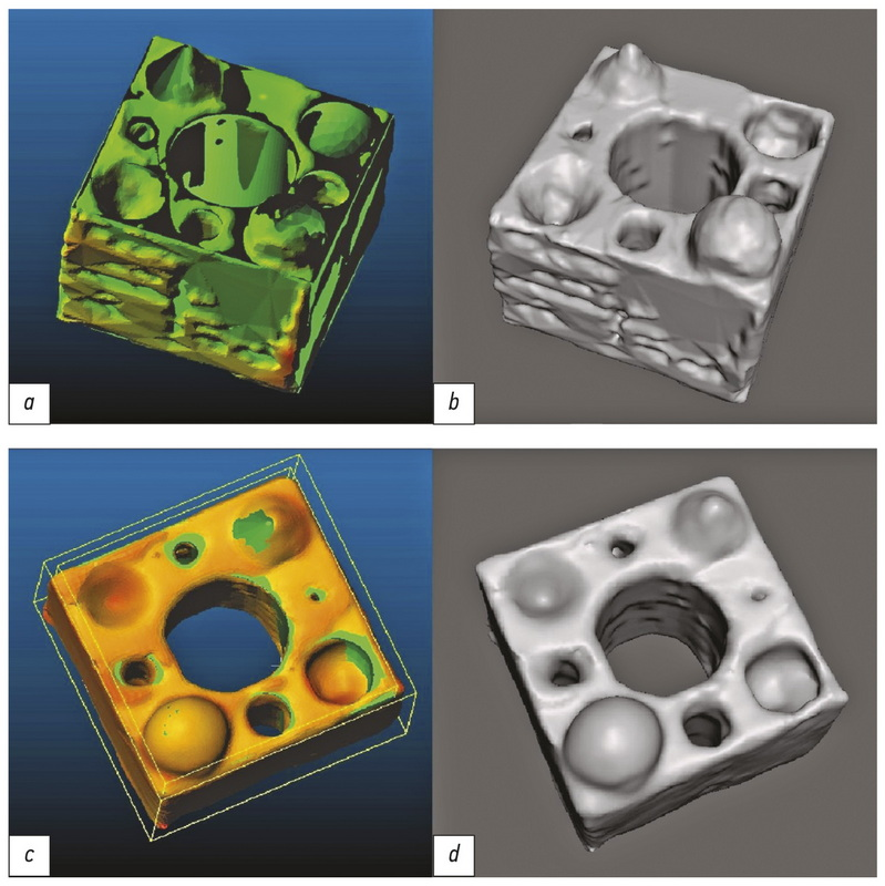 Evaluation of geometric deviations in rapid prototyped three-dimensional models created from computed tomography data